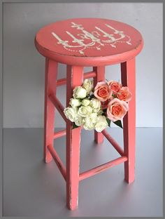 maybe red barstools????