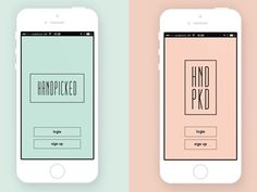 HandPicked | Mobile App