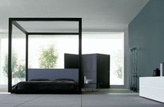 | BEDROOM | Photo Credit: #PorroItaly one of my favourite beds if one were to bring back the class 4 post #GardenBed