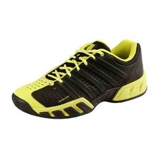 Black and Yellow Tennis Shoes