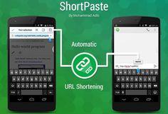 ShortPaste: Tenha os links preparados para partilha no Android