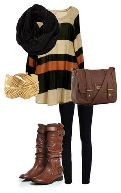 """brown and black"" by valentinelove17 ❤ liked on Polyvore featuring AG Adriano Goldschmied, Stella & Dot, kangol and Pieces"