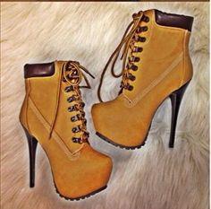 Botas de seguridad a la moda. Preciosas.
