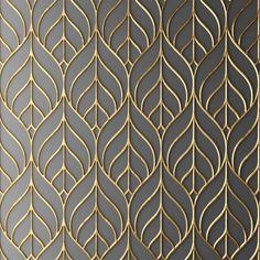 Panel Obj - Model - Wallpaper World Motif Art Deco, Art Deco Pattern, Art Deco Design, Art Deco Tiles, Art Deco Wallpaper, Textured Wallpaper, Textured Walls, Painting Wallpaper, Jaali Design
