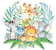 Shop Safari Jungle Baby Shower Plate created by invitationstop. Deco Baby Shower, Baby Shower Treats, Baby Boy Shower, Baby Shower Jungle, Jungle Nursery, Safari Jungle, Safari Theme, Jungle Animals, Arrow Baby Shower