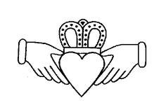 Celtic Symbolism, Pictures of Celtic Symbols and their Meanings Symbols And Meanings, Celtic Symbols, Celtic Art, Love Symbols, Sacred Symbols, Celtic Knots, Irish Celtic, Irish Claddagh Tattoo, Claddagh Symbol