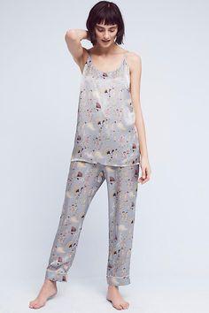 Karen Mabon Great Gatsby Silk Sleep Pants