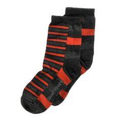 Smartwool Boys' Split Stripe Socks (Youth) | shoemall | free shipping!