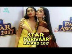 TV Celebs In Star Parivaar Awards 2017