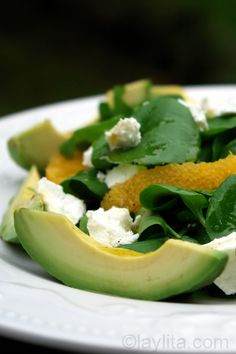 ... , chilli & watercress salad | Recipe | Orange, Salads and The Rub