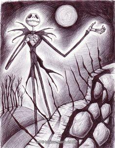 Nightmare Before Christmas -Jack Skellington!: disney