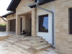 Dream House Exterior, Diy Bar, New House Plans, House Entrance, Pool Houses, Sweet Home, New Homes, Stairs, House Design