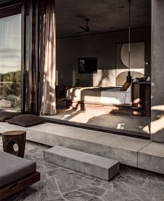 Ambiance naturelle et minérale au Casa Cook Chania - Frenchy Fancy Home Design, Modern House Design, Home Interior Design, Exterior Design, Interior And Exterior, Design Ideas, Modern Home Interior, Design Trends, Design Homes