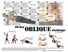 30 Day Oblique Challenge