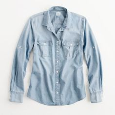 chambray shirt / j.crew factory