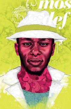 Hip Hop Illustrated Portraits  (via) abduzeedo.com