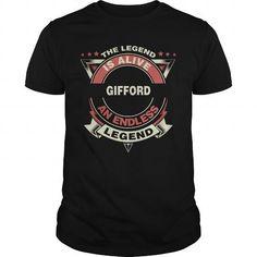 GIFFORD name tee shirts