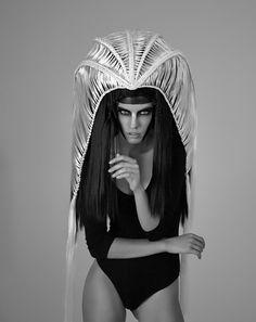 J Anders Urmacher - Jekaterina Aleksejeva - hair Ivan Shatrov - makeup Kristina Rozdovan - concept and designer Ivan Shatrov