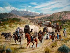 """""""The Oregon Trail"""" - everything about this chapter in America's history interests me!"""