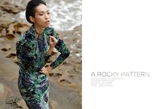A Rocky Pattern, fashion editorial by Toby Marosszeky