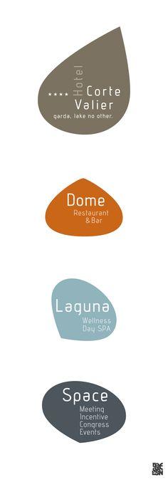 Hotel Corte Valier #logo - 2010 Spa Logo, Hotel Logo, Hotel Branding, Logo Design, Brand Identity Design, Branding Design, Graphic Design, Logo Inspiration, Resorts For Kids