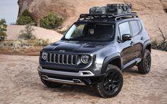 Обновлённый кроссовер Jeep Renegade получил литровый мотор — ДРАЙВ