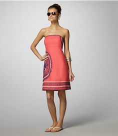 Coral & Navy Lilly Pulitzer Dress  so cute. typically i'm not a fan of anything Lilly Pulitzer, but i do like this dress.