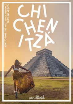 Traveling Mexico - My experience was absolutely epic. So let me share with you a few secret tips to visiting Chichen Itza THE RIGHT WAY. Chichen Itza Mexico, Stuck In The Middle, Best Instagram Photos, 2017 Photos, Travel Alone, Buy Tickets, Mexico Travel, 5 Star Hotels, Travel Guide