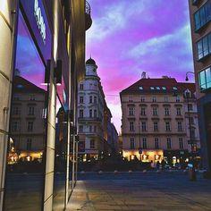 #Vienna #travel #sunset