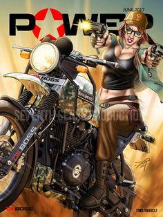 #dkboss7 #power #supermagzine #bikergirl #himalyan #royalenfield #magzinecover