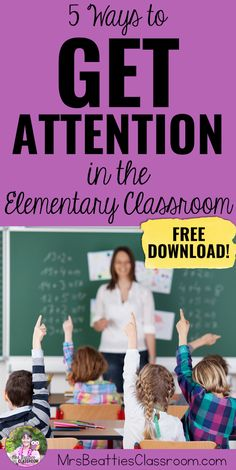 If you're an elementary teacher looking for fun, creative ways to get your students' attention, this post is for you! I'm sharing 5 top attention grabber ideas and signals that are perfect for any elementary classroom. Grab a free set of call and response call backs for your own classroom!