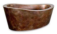 Copper Eclipse Soaking Bath - Diamond Spas