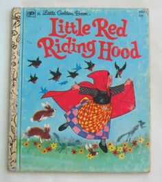 Little Red Riding Hood Vintage Little Golden by TheVintageRead, $4.95