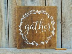 Hang this sign in a gallery wall, or prop it up on a sofa table in a living area to add a warm touch. Details: This sign is coated with a sealant and a hanger is attached to the back. Each sign comes
