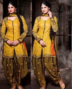 Most Elegent Heavy Patiyala Designer Suit- 734