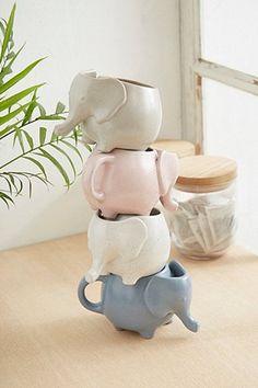 Elephant Tea Mug Urban Outfitters Home & Gifts Kitchen & Bar Glasses & Mugs Elefant Design, Elephant Mugs, Urban Outfitters Home, Keramik Design, Cute Cups, Tea Mugs, Home Gifts, Tea Party, Coffee Cups