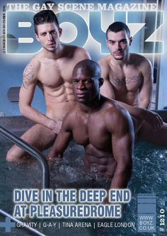 Boyz Magazine Cover by Johan Cloete Photography