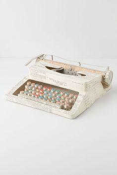 Vintage Paper Typewriter - Anthropologie.com