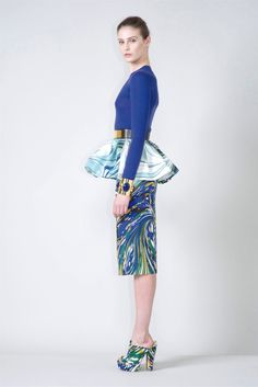 "me encanta el ""print"" de esta falda de stella mccartney"