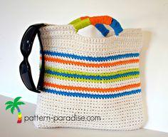 Free Crochet Pattern Tutti Frutti Clutch by Pattern-Paradise.com #patternparadisecrochet