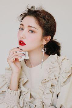 korean makeup – Hair and beauty tips, tricks and tutorials Sexy Makeup, Gorgeous Makeup, Hair Makeup, Natural Makeup Looks, Simple Makeup, Beauty Full Girl, Beauty Women, Luscious Hair, 3ce