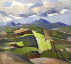 In Glen Isla by John Duncan Fergusson 1923