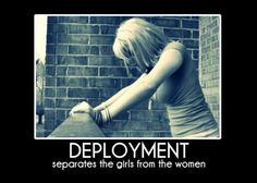 So true! Not adding extra stress to their existing stress of being deployed…