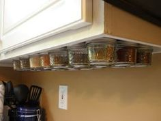 Picture of Magnetic Under Cabinet Spice Rack
