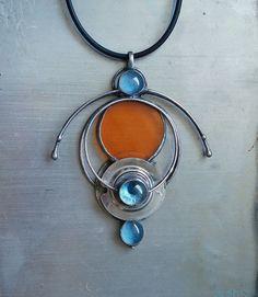 AliensCrafts, glass pendant