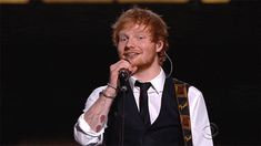 """I got Ed Sheeran!: """"Who could resist Ed Sheeran, with his gorgeous red hair and beautiful mind?! Definitely not you."""" Can We Guess Your Favorite Male Music Artist?"""