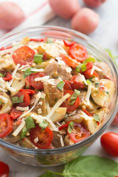 Creamy Italian Potato Salad
