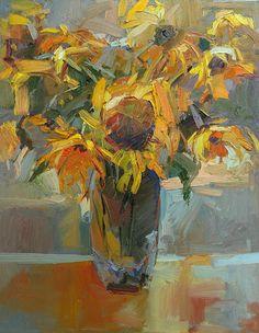 Gary Holland, pintor amreicano, que explora diferentes tipos de expresiones artísticas por ejemplo impresionismo,