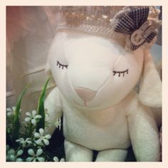 Yang ee, sheep. Designed by Hanz, Baby's 1st dolls and soft toys. using organic cotton fabric. www.hanz.co.kr