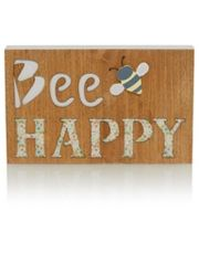 George Home Bee Happy Sign